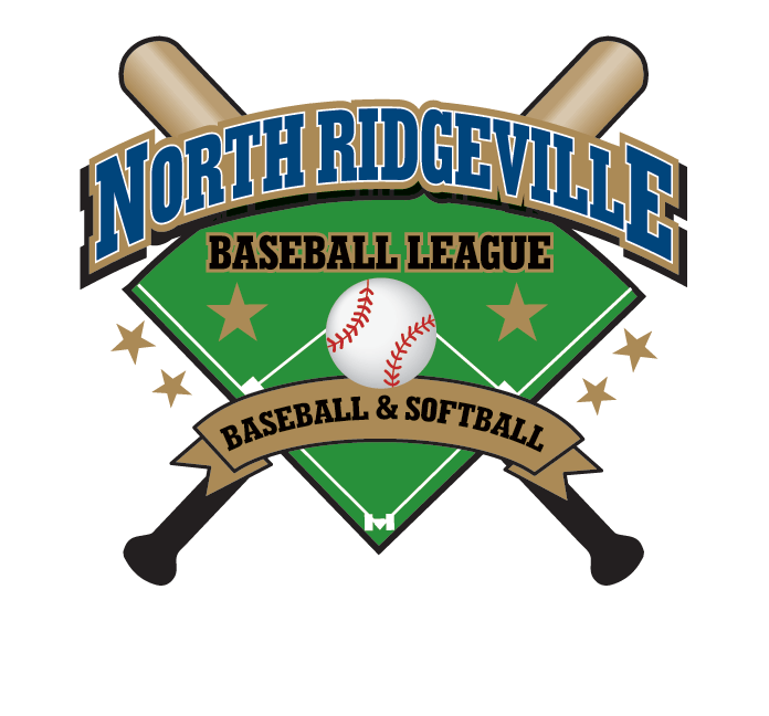 North Ridgeville Baseball League Logo